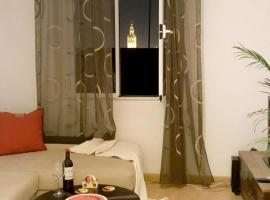 Apartment with 4 bedrooms in Sevilla with wonderful city view furnished balcony and WiFi, pet-friendly hotel in Seville