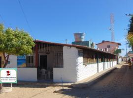 Pousada Galinhos, hotel with pools in Galinhos