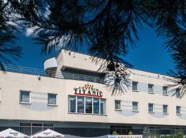 Titanic, hotel with jacuzzis in Białystok