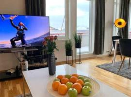 Luxury Penthouse apartment, best location with parking! Tromsø, leilighet i Tromsø