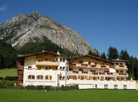Hotel Kirchdach, accommodation in Gschnitz