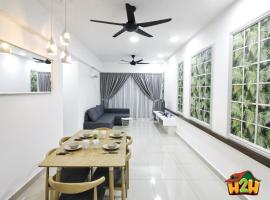 H2H Botanical - Majestic Ipoh Town Center (10 pax), apartment in Ipoh