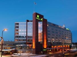 Holiday Inn Helsinki - Expo, an IHG Hotel, hotelli Helsingissä lähellä maamerkkiä Hakaniemen metroasema