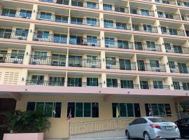 A.A. Pattaya Golden Beach Hotel、パタヤ・サウスのホテル