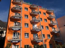 Hotel Garni Montaldi, hotel in Locarno
