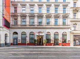 Theaterhotel & Suites Wien, отель в Вене, рядом находится Венская ратуша