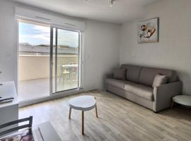 Studio 2 personnes+bébé, apartment in Valras-Plage