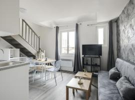 804 Suite Styling, Superb Duplex, Door of Paris, hotel in Bagnolet