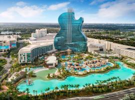 The Guitar Hotel at Seminole Hard Rock Hotel & Casino, hotel near Seminole Hard Rock Hotel & Casino, Fort Lauderdale