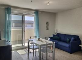 Studio pour 2 personnes + bébé, apartment in Valras-Plage