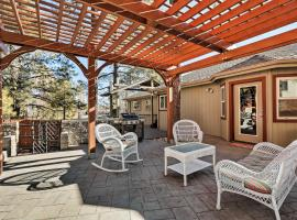 Family Flagstaff Home with Gazebo - Golf, Ski, Hike!, vacation rental in Flagstaff