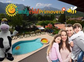 Family Hotel Primavera, hotel near Terme of Levico and Vetriolo, Levico Terme