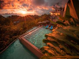 Gaia Hotel & Reserve- Adults Only, hotel in Manuel Antonio