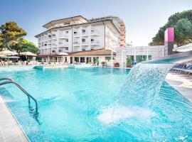 Hotel Bristol, hotel v Lignanu Sabbiadoru