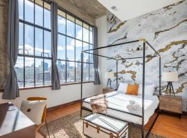 Penthouse Lofts by Sosuite, vacation rental in Philadelphia