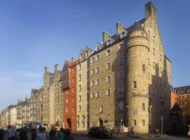 Radisson Blu Hotel, Edinburgh City Centre, boutique hotel in Edinburgh