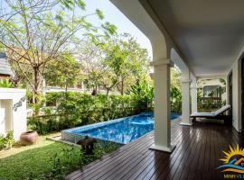 Minh Villas - Private Pool 3 bedrooms with pool, biệt thự ở Đà Nẵng