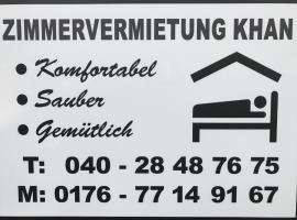 Zimmervermietung Khan, hotel in Norderstedt