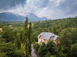 Villa Meribel, hotel near Lomnicky peak, Vysoké Tatry - Tatranská Lomnica