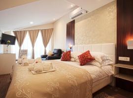 Villa Višnja Prestige, room in Brela