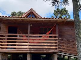 Casa de campo próxima ao Cânion Fortaleza, holiday home in Cambara do Sul