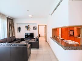 DHH - Aurora Tower 5 Mins walk to JBR, Apartment with Marina View, budget hotel in Dubai