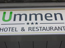 Ummen Hotel&Restaurant, Hotel in Barßel
