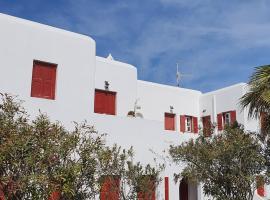 Ornos Sunflower Studios, hotel in Ornos