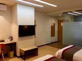 Thank Inn Chain Hotel fujian quanzhou fengze district donghai street, отель в городе Цюаньчжоу