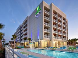 Holiday Inn Express & Suites - Galveston Beach, hotel in Galveston