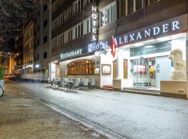 Budget Hotel Alexander, hotel in Basel