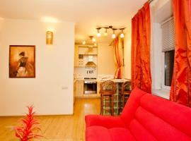 Apartment at Frunzenskaya, hotel near Neskuchny Garden, Moscow