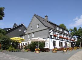 Ferienwohnungen Landgasthof Gilsbach, hotel near Rohrbach Lift, Winterberg