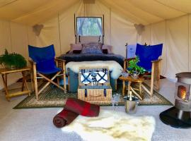 Wingtons Glamping, camping de luxo em Clarence Point