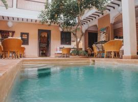 Riad l'Oiseau du Paradis, hôtel à Marrakech