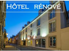 Hôtel De Brunville Et Restaurant Le Café Louis, hotel in Bayeux
