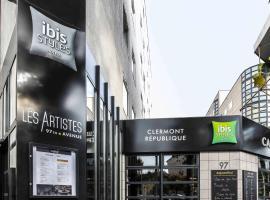 Ibis Styles Clermont-Ferrand République, hôtel à Clermont-Ferrand près de: Aéroport de Clermont-Ferrand - Auvergne - CFE