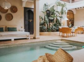 Riad l'Oiseau du Paradis, hotel in Marrakesh