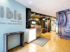 ibis Paris Vanves Parc des Expositions, hotel near Mairie d'Issy Metro Station, Vanves