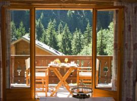 Beautiful and luxurious Chalet in Champery, Portes Du Soleil, Swiss Alps. Peaceful location with stunning views, hotel in Champéry