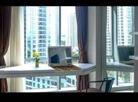 2BR 1 Bathroom @The Mansion Apartment Aurora Tower, hotel in Jakarta