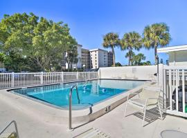 Lido Beach Studio, Walk to St. Armands Circle, apartment in Sarasota