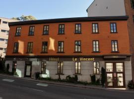 Hotel Le Vincent, hotel near Fairmont Le Chateau Frontenac, Quebec City