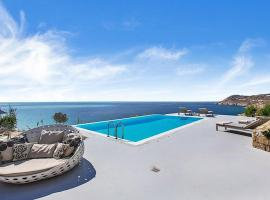 Stunning Villa, Best Location, Private Pool, Walk to Elia Beach, hotel with pools in Patra