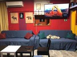 Whole Basement Pub2 for stag do, men's cave, apartment in Budapest
