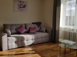 Siguldas street apartment, hotel near Vidzeme Olympic Centre, Valmiera