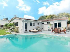 New Listing! Modern Art Haven w/ Pool - Near Beach home, villa in Fort Lauderdale