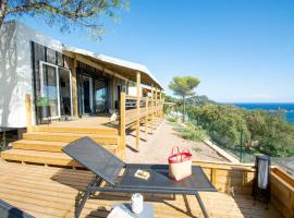 2 Mobile Homes INCROYABLE VUE MER, AGAY, Campingplatz in Drammont