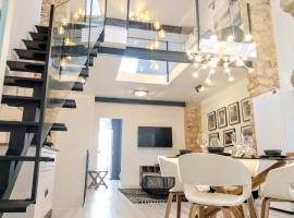LUXURY New Loft CITY CENTRE & Castle, Alicante, apartment in Alicante