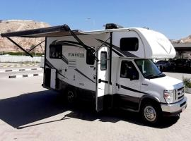 Oman Motorhomes, campground in Muscat